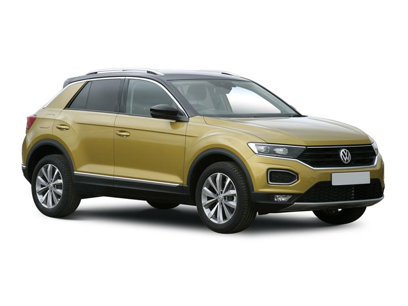 VOLKSWAGEN T-ROC HATCHBACK 1.0 TSI 110 Black Edition 5dr