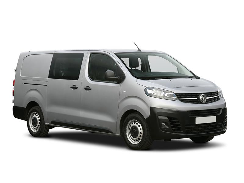 VAUXHALL e-VIVARO L2 3100 100kW Elite 75kWh H1 D/Cab Auto [11kWCh]