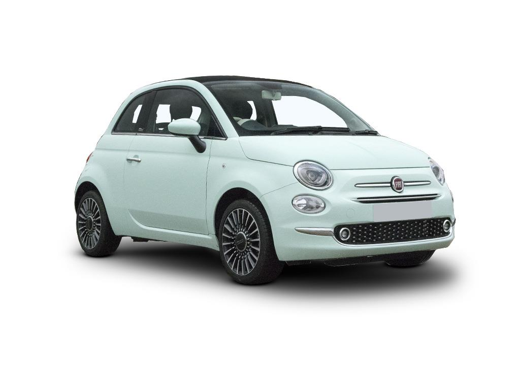 Fiat 500C Convertible 1.0 Mild Hybrid Dolcevita [Part Leather] 2dr Contract Hire & Leasing