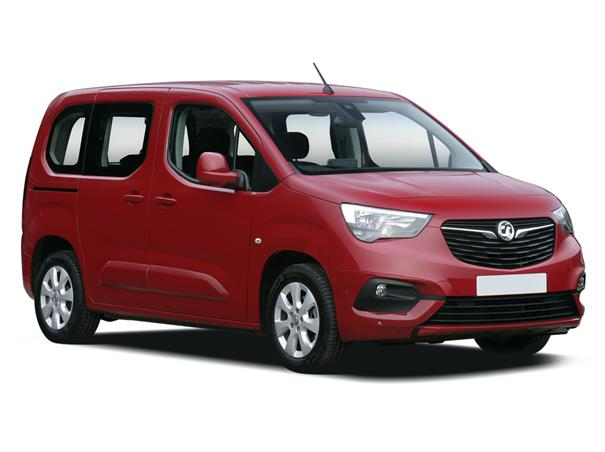 Vauxhall Combo Life Diesel Estate 1.5 Turbo D Design XL 5dr Contract Hire & Leasing