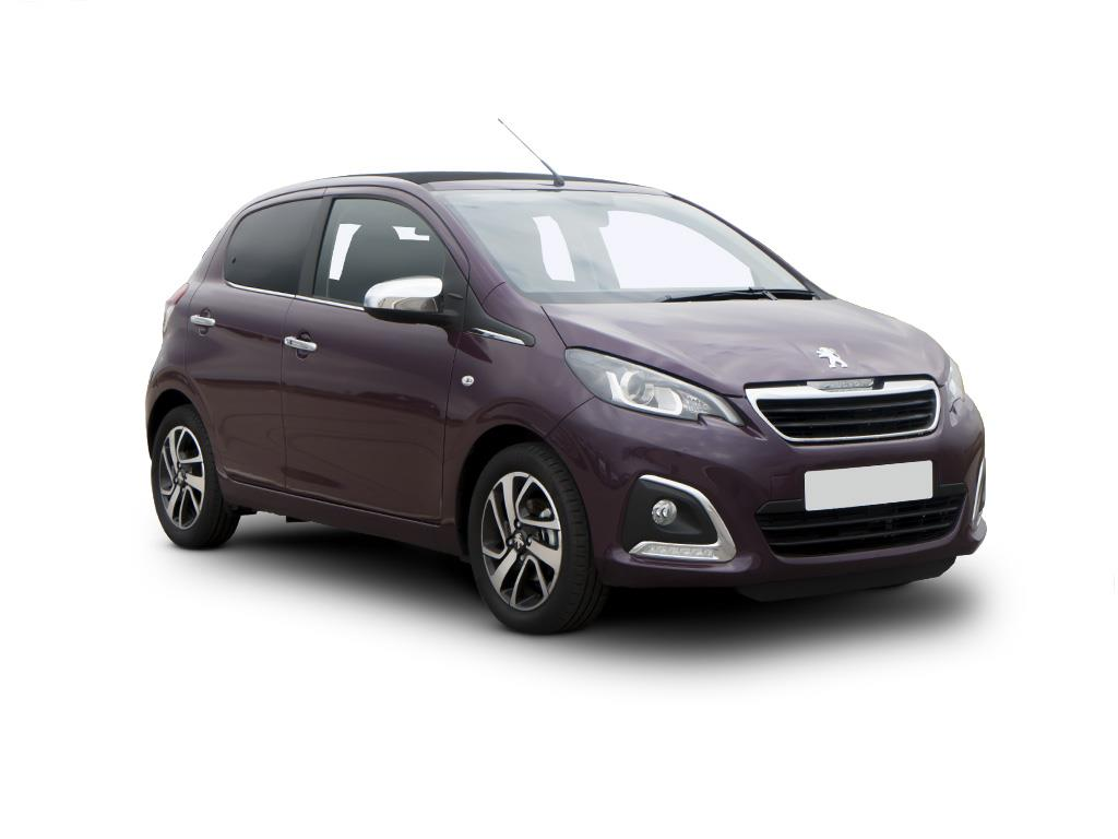 Peugeot 108 Top Hatchback 1.0 72 Active 5dr Contract Hire & Leasing