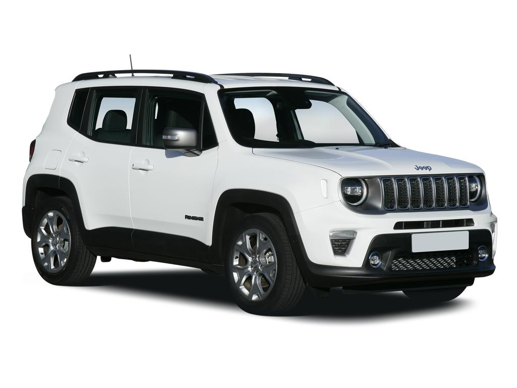 Jeep Renegade Hatchback 1.3 T4 GSE Longitude 5dr DDCT Contract Hire & Leasing
